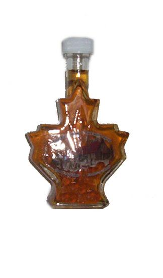 Maple Syrup- Maple Leaf Bottle