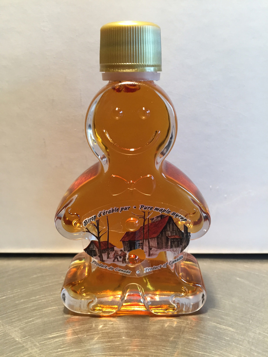 Maple Syrup - Gingerbread Man Bottle