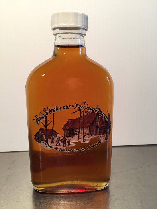 Maple Syrup - Flask Bottle